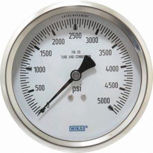 فشارسنج ویکا برای تست اسپلیت تی روی خطوط فشار بالا