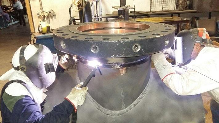 ساخت اسپلیت تی و مونتاژ قطعات آن از طریق جوشکاری