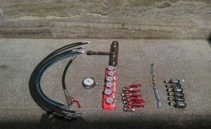 فشار سنج و سایر ابزارهای تست فشار اسپلیت تی
