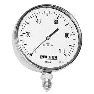 تست فشار هیدرواستاتیک اسپلیت تی با فشارسنج رویگر